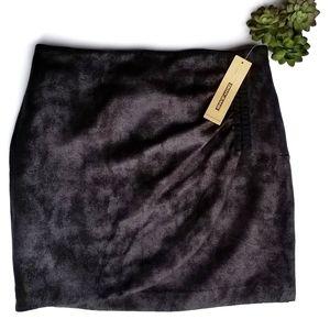 DKNY Jeans Distressed Mini Skirt NWT